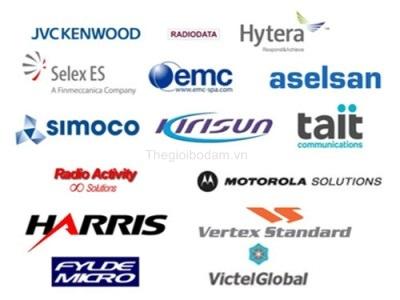 Các nhà sản xuất thiết bị DMR hàng đầu thế giới