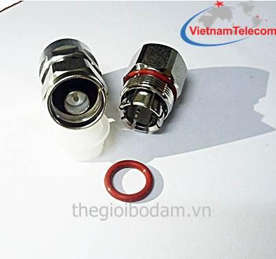 Đầu nối cáp đồng trục 1/2 inch (N-Đực)