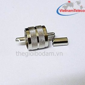 Đầu nối cáp đồng trục PL259