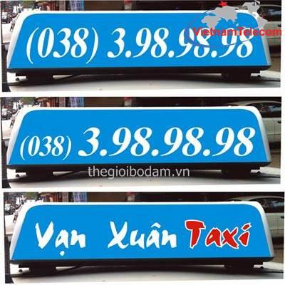 Đèn nóc taxi Vạn Xuân