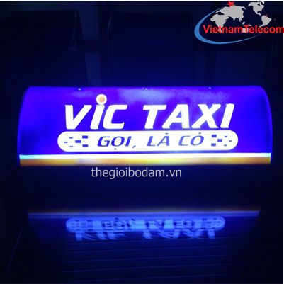 Đèn nóc taxi hãng VIC
