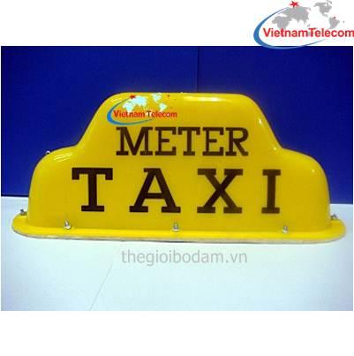 Đèn mào vàng taxi có đế từ