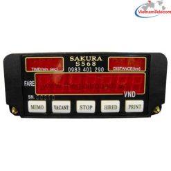 Đồng hồ tính cước taxi SAKURA S568 chính hãng