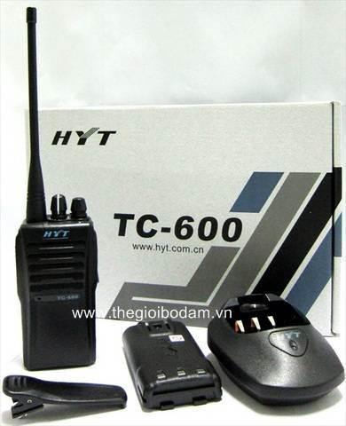 Mua máy bộ đàm HYT 600 chính hãng - máy bộ đàm cầm tay giá rẻ, Mua may bo dam HYT 600 chinh hang may bo dam cam tay gia re