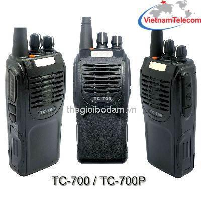 Dòng máy bộ đàm cầm tay HYT TC700/TC700P