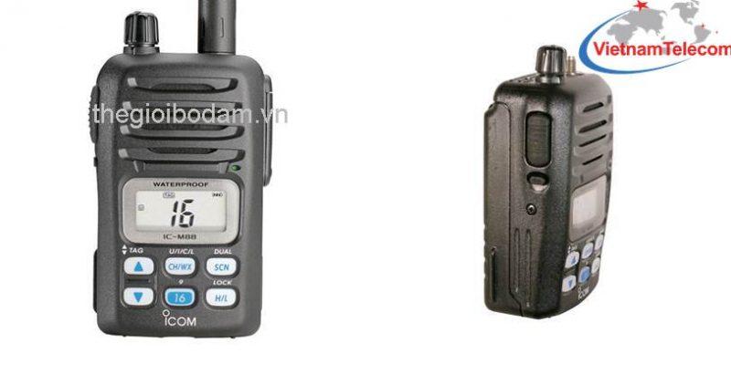hình ảnh máy bộ đàm cầm tay icom IC – M88 chính hãng
