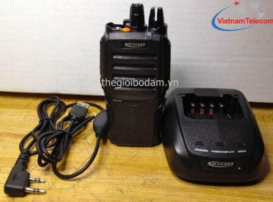 máy bộ đàm cầm tay Kirisun PT-3600 tích hợp PTT ID và VOX