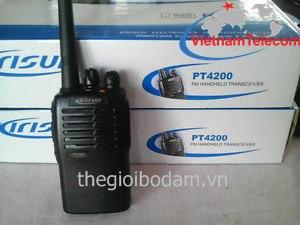 máy bộ đàm cầm tay Kirisun PT4200 tích hợp CTCSS/DCS