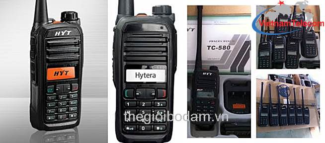 máy bộ đàm cầm tay HYT TC-580 chính hãng, giá rẻ, may bo dam cam tay HYT TC 580 chinh hang gia re