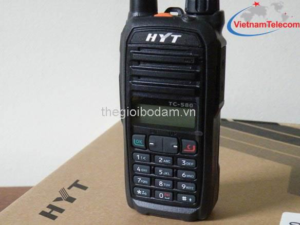 Báo giá Máy bộ đàm cầm tay HYT TC-580 tốt nhất cho khách hàng, Bao gia May bo dam cam tay HYT TC 580 tot nhat cho khach hang