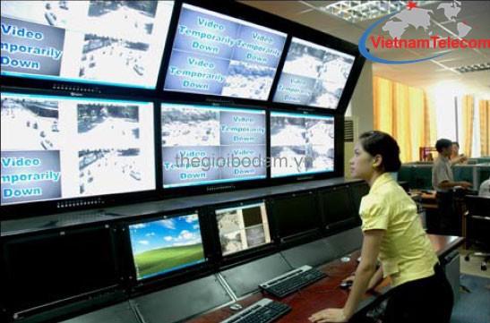 Vietnam Telecom lắp đặt mạng máy tính quan sát cho doanh nghiệp lớn