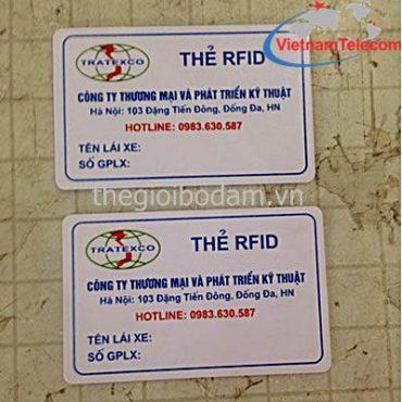 THẺ TỪ TAXI RFID