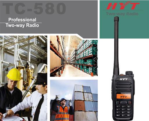 máy bộ đàm HYT TC-580 chính hãng giá tốt tại Vietnam Telecom