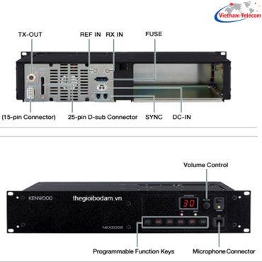 Trạm chuyển tiếp tins hiệu Chức năng thu tín hiệu và phát lại cho các máy bộ đàm khác, giúp tăng cự li liên lạc và mở rộng phạm vi phủ sóng.