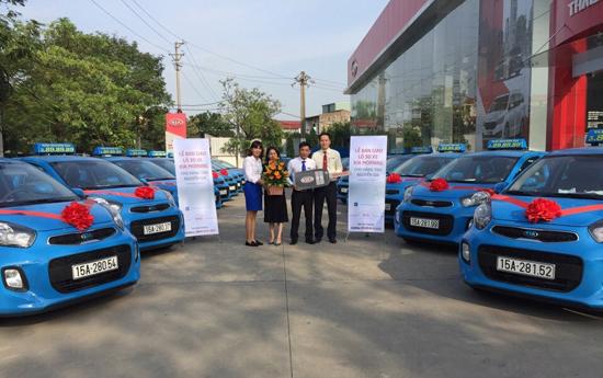 Xe taxi Nguyễn Gia hoàn toàn là xe mới chất lượng cao