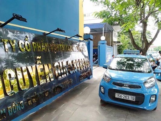 Công ty cổ phần vận tải taxi Nguyễn Gia