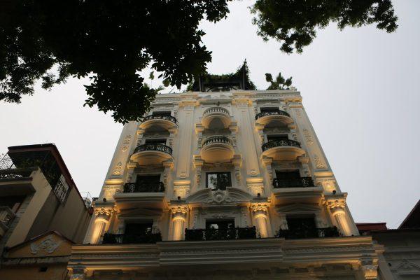 Mặt tiền khách sạn La Sinfonía del Rey Việt Nam