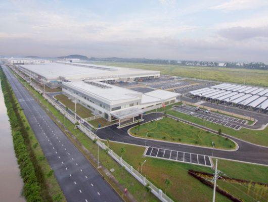 Toàn cảnh nhà máy Fushan Technology Việt Nam