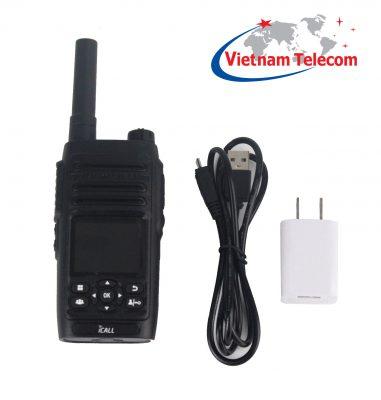 Bộ sản phẩm bộ đàm cầm tay 3G Icall PoC555