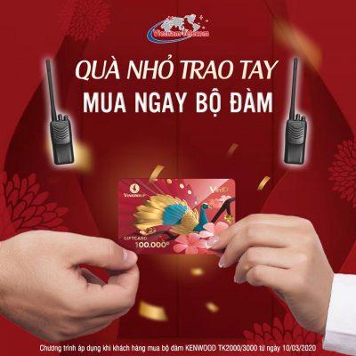 tin khuyến mại mua bộ đàm vietnam telecom