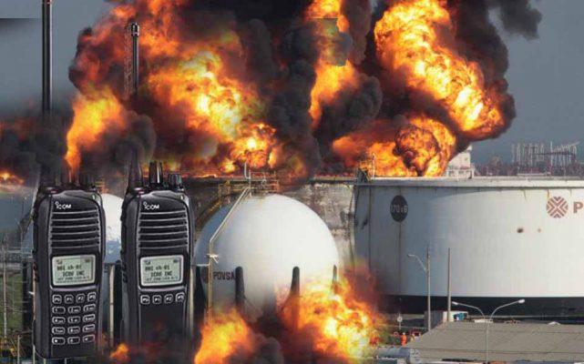 Bộ đàm sử dụng trong các môi trường dễ cháy nổ