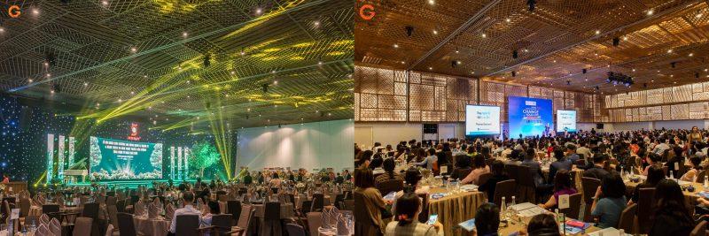 Phòng tổ chức sự kiện tại GEM Center