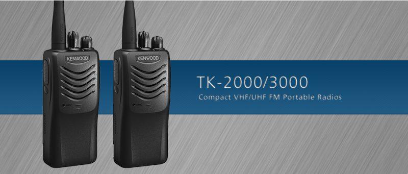 Bộ đàm giá rẻ cho bảo vệ Kenwood TK 2000/ TK 3000