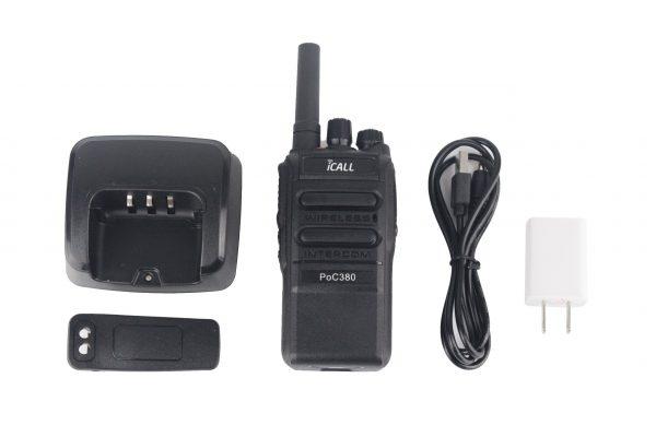 Bộ đàm 3G Icall PoC380 cho khu đô thị cao cấp