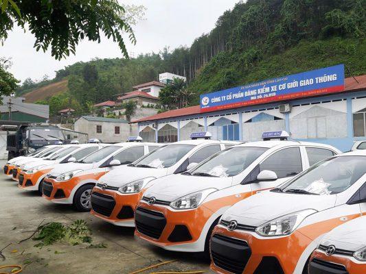 Xe của Taxi Hiếu Hồng được kiểm tra định kỳ đảm bảo an toàn di chuyển