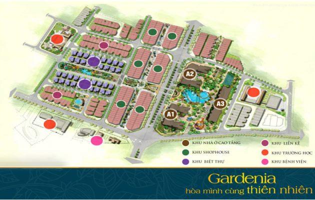 Tổng quan mặt bằng khu đô thị xanh Vinhomes Gardenia