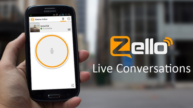 Ứng dụng Zello cho phép biến chiếc smartphone thành máy bộ đàm