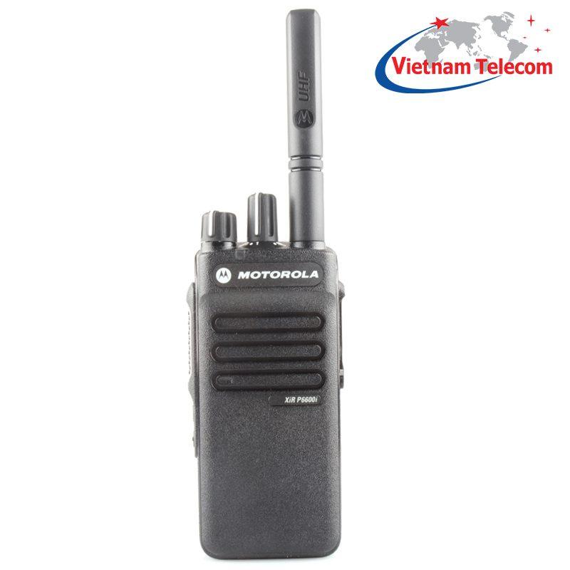 Máy bộ đàm Motorola XiR P6600i – máy bộ đàm cầm tay nhỏ gọn