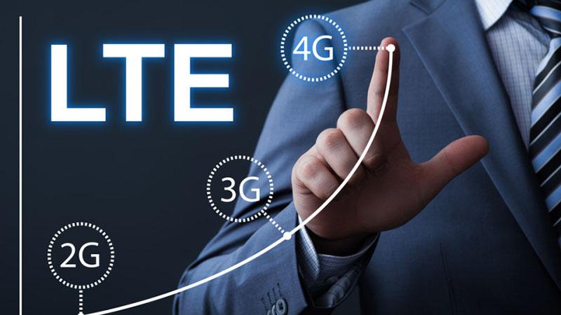 Sử dụng sóng 4G là công nghệ mới nhất được áp dụng vào bộ đàm