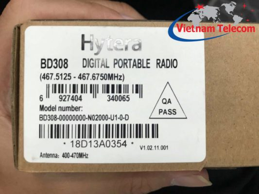 Hình ảnh thực tế khi mở hộp HYT BD308