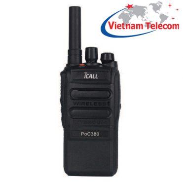 Bộ đàm 4G iCALL PoC380 LTE