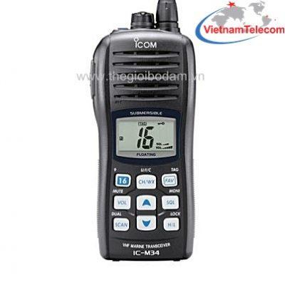 Máy bộ đàm ICOM IC-M34 chính hãng, giá tốt