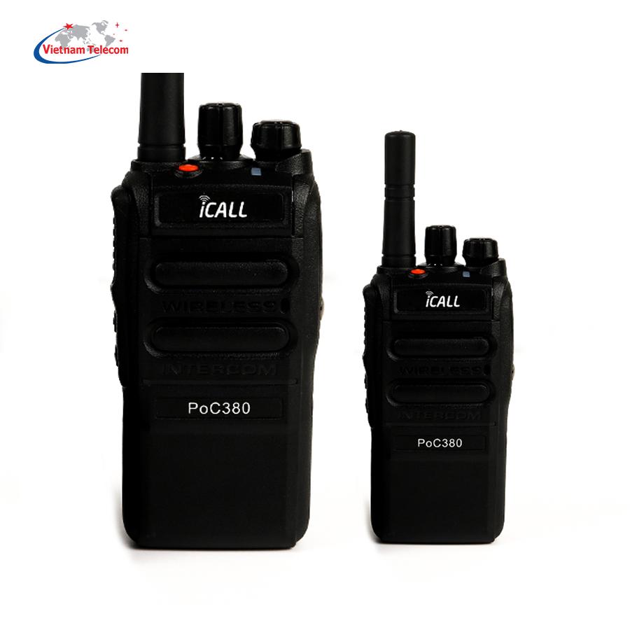 Bộ đàm iCALL PoC380 LTE